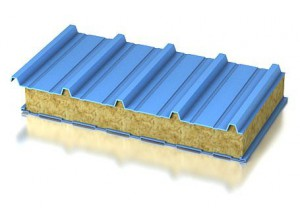 Сэндвич панели из минеральной ваты (МВ)